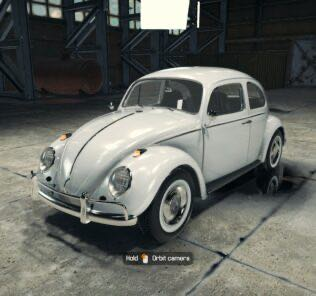1963 Volkswagon Beetle Type 1 Mod for Car Mechanic Simulator 2018