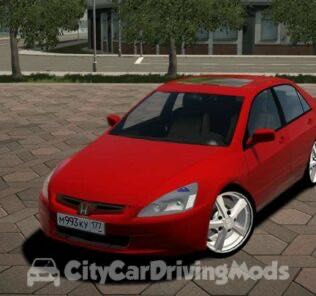 2004 Honda Accord V6 Mod for City Car Driving v.1.5.6