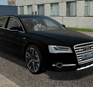 2016 Audi S8 / S8 Plus (D4) Mod for City Car Driving v.1.5.9