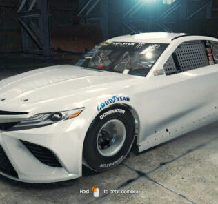 2017 Toyota Camry Stockcar Mod for Car Mechanic Simulator 2018