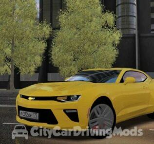 2018 Model Chevrolet Camaro V8 Mod for City Car Driving v.1.5.6