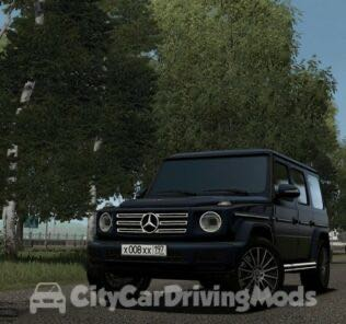 2019 Mercedes-Benz G500 Mod for City Car Driving v.1.5.6