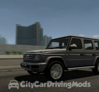 2019 Mercedes-Benz G500 Mod for City Car Driving v.1.5.8