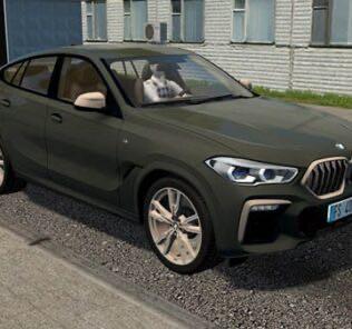 2020 BMW X6 M50i Mod for City Car Driving v.1.5.9