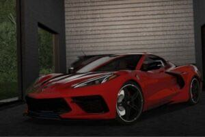 2020 Chevrolet Corvette C8 Stingray Mod for City Car Driving v.1.5.9