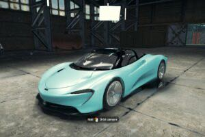 2020 McLaren Speedtail Mod for Car Mechanic Simulator 2018