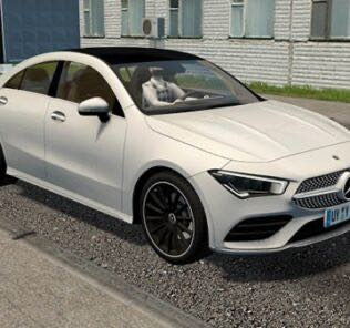 2020 Mercedes Benz CLA250 / CLA35 AMG Mod for City Car Driving v.1.5.9