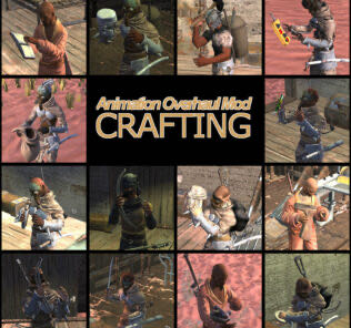 Animation Overhaul Mod – Crafting Mod for Kenshi