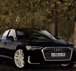 Audi A6 Sedan 55 TSFI 2019 Mod for City Car Driving v.1.5.9