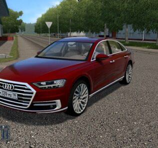 Audi A8 4.0 TFSI Quattro 2018 Mod for City Car Driving v.1.5.9