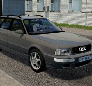 Audi RS 2 Avant Mod for City Car Driving v.1.5.9