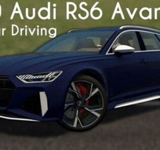 Audi RS6 Avant C8 2020 Mod for City Car Driving v.1.5.9