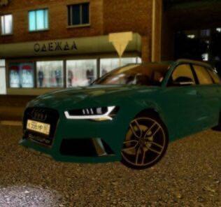 Audi RS6 (C7) Mod for City Car Driving v.1.5.9
