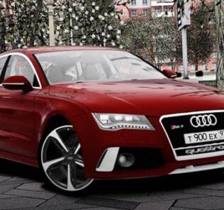 Audi RS7 Sportback 2013 Mod for City Car Driving v.1.5.9