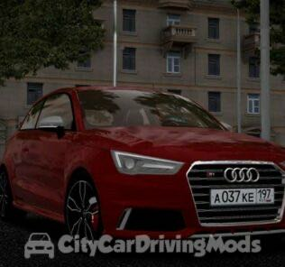 Audi S1 2015 Mod for City Car Driving v.1.5.7
