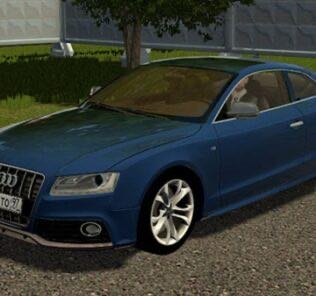 Audi S5 2007 Mod for City Car Driving v.1.5.9