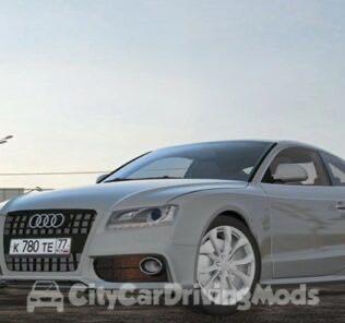 Audi S5 Mod for City Car Driving v.1.5.5