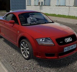 Audi TT (8N3) Mod for City Car Driving v.1.5.9