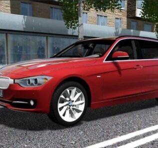 BMW 335i F31 Touring Mod for City Car Driving v.1.5.9