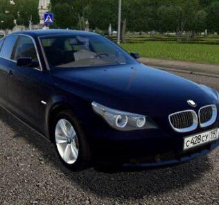BMW 530Xi E60 Mod for City Car Driving v.1.5.9