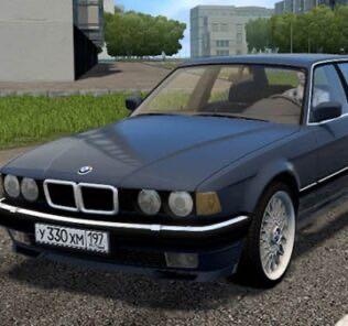 BMW 735i E32 Mod for City Car Driving v.1.5.9