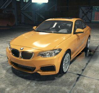 BMW M235i Mod for Car Mechanic Simulator 2018