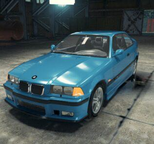 BMW M3 E36 Mod for Car Mechanic Simulator 2018