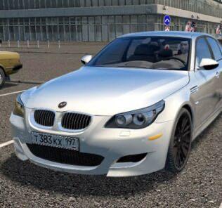 BMW M5 E60 Mod for City Car Driving v.1.5.9