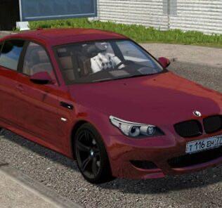 BMW M5 E60 Shadow Mod for City Car Driving v.1.5.9