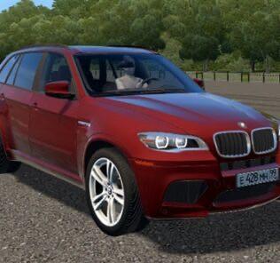 BMW X5M E70 Mod for City Car Driving v.1.5.9