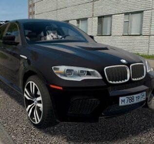 BMW X6 M (E71) Mod for City Car Driving v.1.5.9