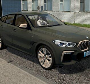 BMW X6 M50i 2020 Mod for City Car Driving v.1.5.9