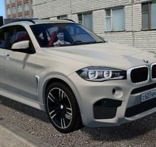 BMW X6M F86 Mod for City Car Driving v.1.5.9