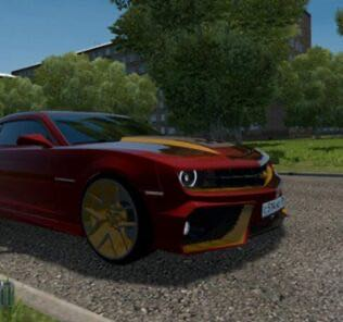 Chevrolet Camaro VR Mod for City Car Driving v.1.5.8