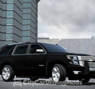 Chevrolet Tahoe LTZ 2015 Mod for City Car Driving v.1.5.7