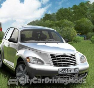 Chrysler PT Cruiser Mod for City Car Driving v.1.5.6