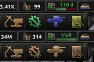 Coloured Buttons Mod for Hearts of Iron IV