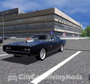 Dodge Charger RT Fast & Furious Edition 1970 Mod for City Car Driving v.1.5.5