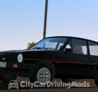 Ford Fiesta XR2 MK1 Mod for City Car Driving v.1.5.8