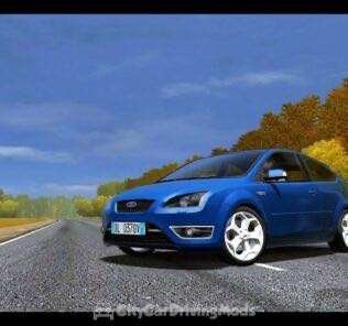 Ford Focus ST III 2006 Mod for City Car Driving v.1.5.6