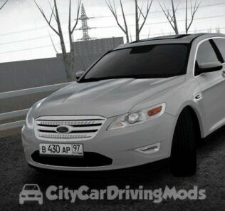 Ford Taurus 2010 Mod for City Car Driving v.1.5.7