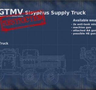 GTMV Sisyphus Supply Truck Mod for Brick Rigs