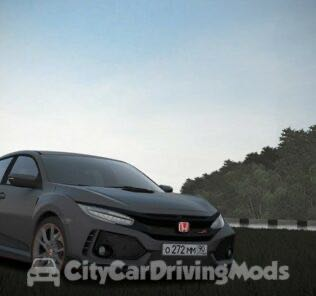 Honda Civic Type R 2018 Mod for City Car Driving v.1.5.7
