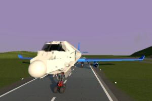 Hyper Realistic Destructable Embraer 190 (Plane) Mod for Brick Rigs