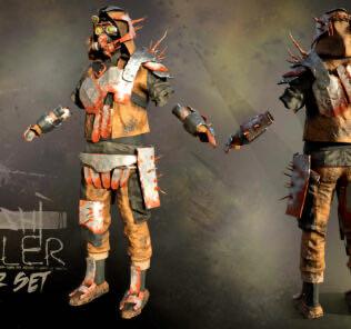Impaler Armor Set Mod for Kenshi