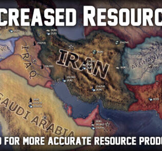 Increased Resources (inactive) Mod for Hearts of Iron IV