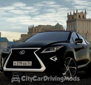 Lexus RX350 2017 Mod for City Car Driving v.1.5.5