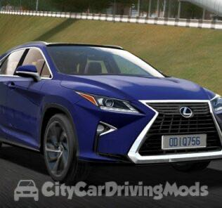 Lexus RX350 2017 Mod for City Car Driving v.1.5.7