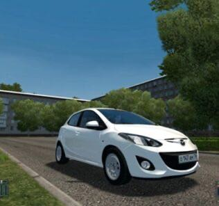 Mazda 2 Mod for City Car Driving v.1.5.8