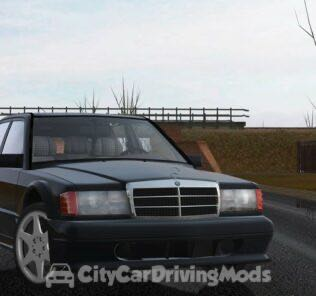 Mercedes-Benz 190E 2.5-16 Evolution II (W201) 1990 Mod for City Car Driving v.1.5.5